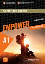 Cambridge English Empower Starter Student's Book with online access, Doff Adrian, Thaine Craig, Puchta Herbert