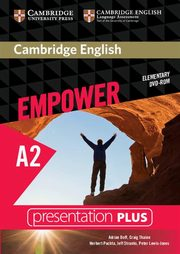 Cambridge English Empower Elementary Presentation Plus DVD, Doff Adrian, Thaine Craig, Puchta Herbert