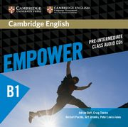 ksiazka tytuł: Cambridge English Empower Pre-intermediate Class Audio 3CD autor: Doff Adrian, Thaine Craig, Puchta Herbert