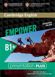 Cambridge English Empower Intermediate Presentation Plus DVD-ROM, Doff Adrian, Thaine Craig, Puchta Herbert, Stranks Jeff, Lewis-Jones Peter, Godfrey Rachel, Davies Gareth