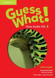 Guess What! 1 Class Audio 3CD British English, Reed Susannah, Bentley Kay