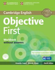 Objective First Workbook without Answers with Audio CD, Capel Annette, Sharp Wendy