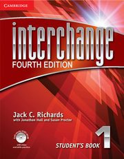Interchange 1 Student's Book with Self-study DVD-ROM, Richards Jack C., Hull Jonathan, Proctor Susan