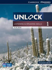 Unlock 1 Listening and Speaking Skills Student's Book with online workbook, White N. M.