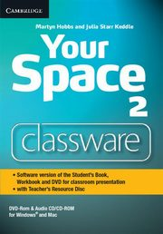 Your Space Level 2 Classware DVD-ROM with Teacher's Resource Disc, Hobbs Martyn, Keddle Julia Starr