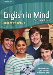 English in Mind 4 Student's Book + DVD, Puchta Herbert, Stranks Jeff