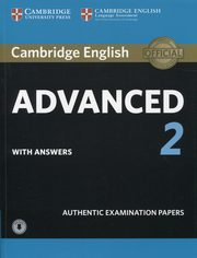 Cambridge English Advanced 2 Student's Book with answers and Audio,