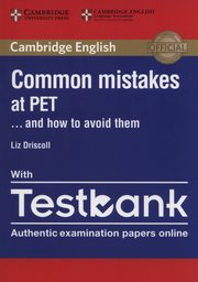 Common Mistakes at PET with Testbank, Driscoll Liz