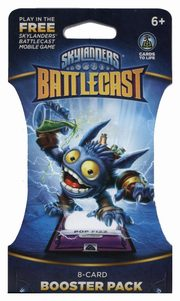 Skylanders Battlecast Booster Pack Pop Fiz 8 kart,