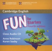 Fun for Starters Class Audio CD, Robinson Anne, Saxby Karen