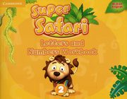Super Safari Level 2 Letters and Numbers Workbook,