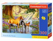 Puzzle Horses by the Stream 300,