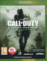 Call of Duty Modern Warfare Remastered Xbox One,