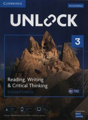 Unlock 3 Reading, Writing, & Critical Thinking Student's Book, Westbrook Carolyn, Baker Lida, Sowton Chris