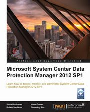 Microsoft System Center Data Protection Manager 2012, Buchannan Steve